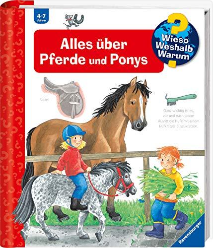 9783473332588: Wieso? Weshalb? Warum? Alles über Pferde und Ponys. ( Ab 4 J.).