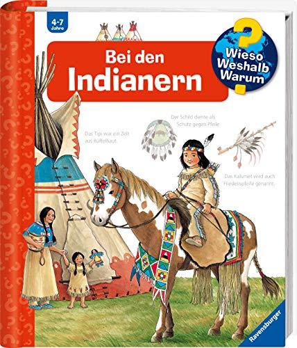 9783473332618: Bei den Indianern