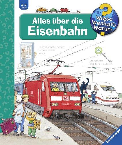 9783473332793: Alles �ber die Eisenbahn