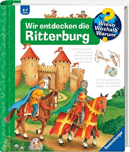 9783473332809: Wir entdecken die Ritterburg