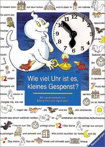 9783473333974: Wie viel Uhr ist es, kleines Gespenst? ( Ab 4 J.). (French Edition)
