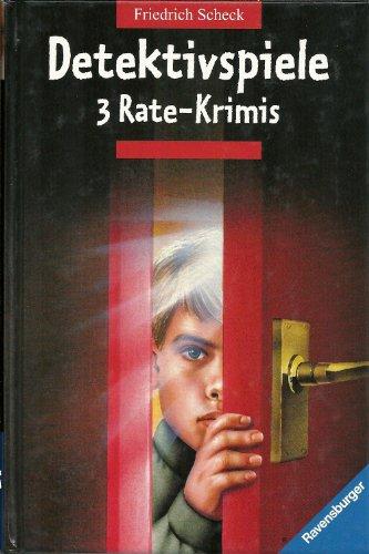 9783473345939: Detektivspiele. 3 Rate-Krimis
