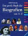 Das große Buch der Biografien von A - Z Cover