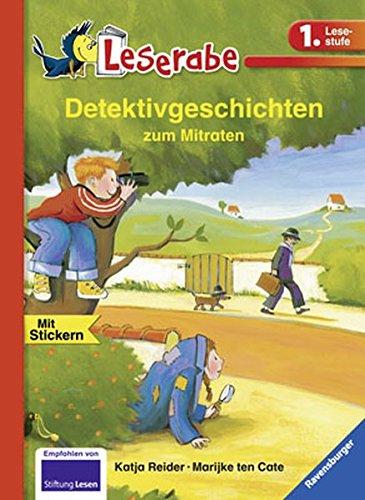 9783473361793: Detektivgeschichten Zum Mitraten (German Edition)