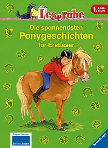 9783473362448: Die spannendsten Ponygeschichten für Erstleser