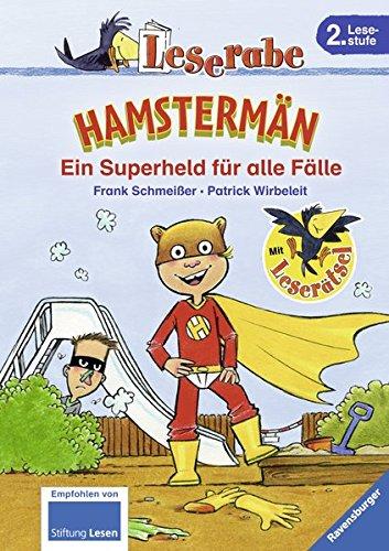 9783473363001: Leserabe: Hamstermän. Ein Superheld für alle Fälle
