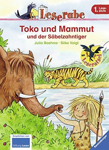 9783473363193: Leserabe: Toko und Mammut und der Säbelzahntiger