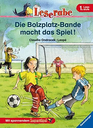 9783473363353: Die Bolzplatz-Bande Macht Das Spiel (German Edition)