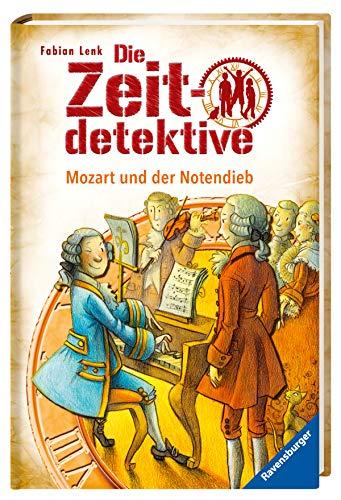 9783473369768: Die Zeitdetektive 28: Mozart und der Notendieb