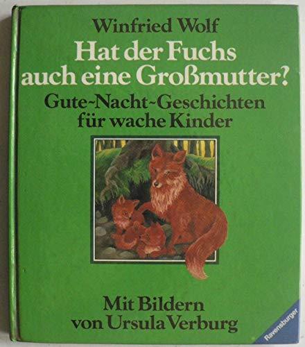 9783473373253: Hat der Fuchs auch eine Grossmutter?. Gute-Nacht-Geschichten für wache Kinder