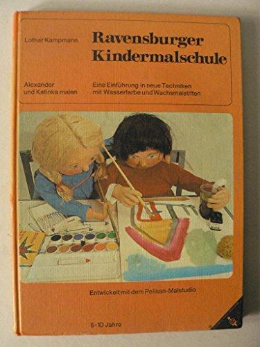 9783473374014: Ravensburger Kindermalschule