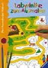 9783473375493: Mein Ravensburger Malbuch. Labyrinthe zum Ausmalen.