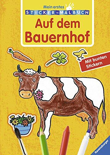 9783473379682: Mein erstes Sticker-Malbuch. Auf dem Bauernhof