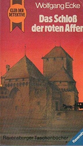 9783473392087: Das Schloss der roten Affen. Club der Detektive