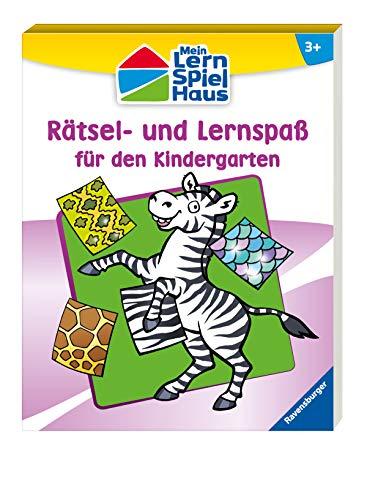 9783473412129: R�tsel- und Lernspa� f�r den Kindergarten
