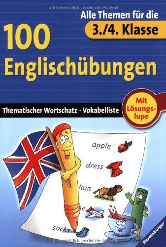 9783473412563: 100 Englischübungen (3./4. Klasse)