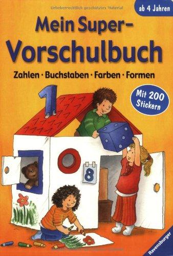 9783473412570: Mein Super-Vorschulbuch