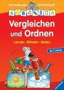 9783473412600: Vergleichen und Ordnen. Lernen. Rätseln. Malen