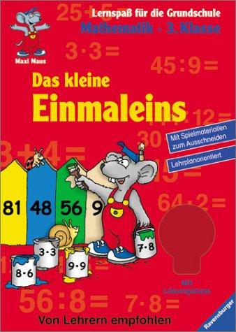 9783473412976: Maxi Maus. Das kleine Einmaleins. Mathematik 3. Klasse.