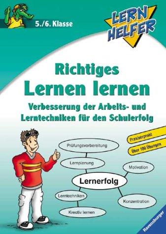 9783473413645: Lernhelfer. Richtiges Lernen lernen. 5./6. Klasse.