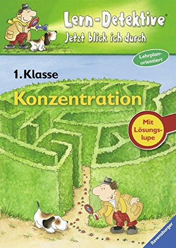 9783473414352: Lern-Detektive: Konzentration 1. Klasse (German Edition)