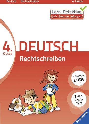 9783473414659: Lern-Detektive: Rechtschreiben (Deutsch 4. Klasse): Gute Noten von Anfang an!
