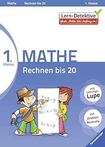 Lern-Detektive: Rechnen bis 20 (Mathe 1. Klasse): Goldbach, Manuela