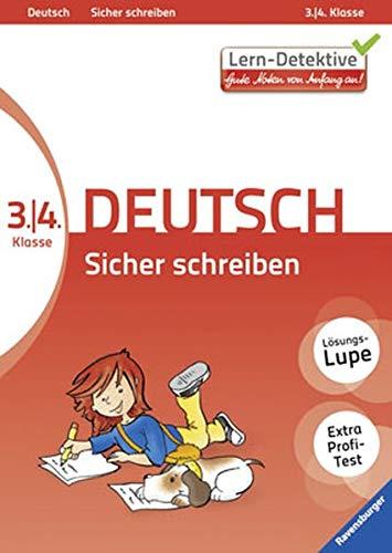9783473414734: Lern-Detektive: Sicher schreiben (Deutsch 3./4. Klasse)