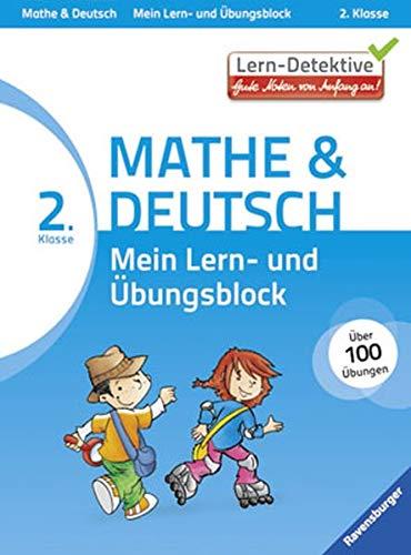 9783473419845: Lern-Detektive: Mein Lern- und Übungsblock Mathe & Deutsch 2. Klasse