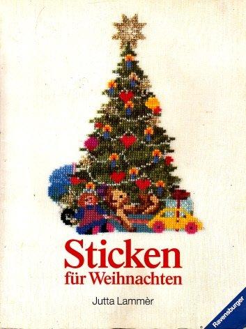 9783473424863: Sticken für Weihnachten
