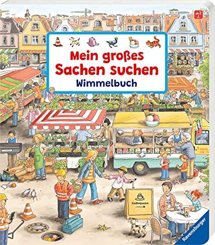 9783473433452: Mein großes Sachen suchen - Wimmelbuch