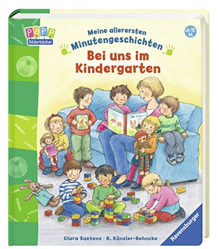 9783473433612: Meine allerersten Minutengeschichten: Bei uns im Kindergarten