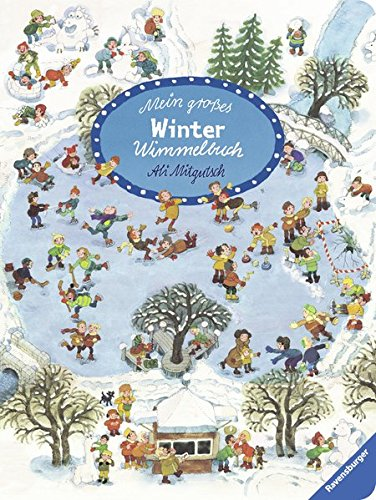 9783473433704: Mein großes Winter-Wimmelbuch