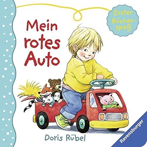 9783473434725: Erster Bücherspaß - Mein rotes Auto