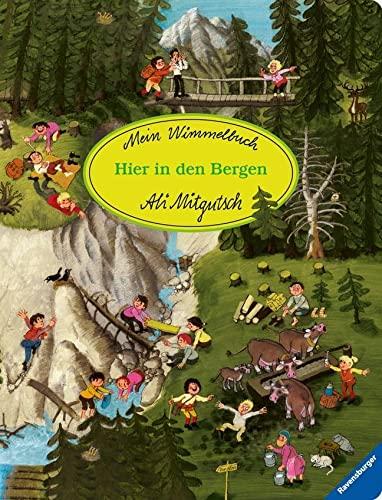 9783473434893: Mein Wimmelbuch: Hier in den Bergen