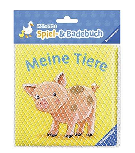 9783473434954: Mein erstes Spiel- und Badebuch: Meine Tiere: Ab 6 Monate