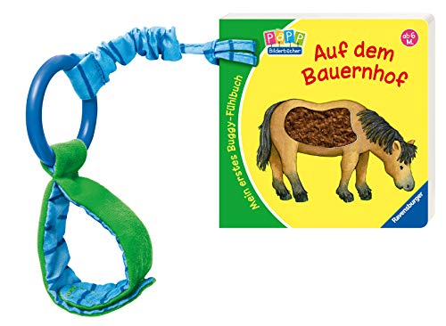 Mein erstes Buggy-Fühlbuch - Auf dem Bauernhof: Ab 6 Monate: Sandra Grimm