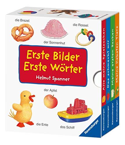 Erste Bilder – Erste Wörter (4 Titel im Schuber) - Helmut Spanner