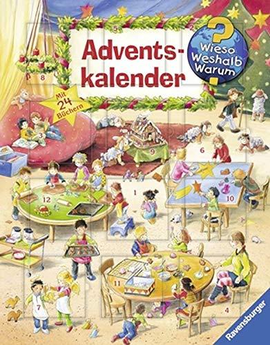 Wieso? Weshalb? Warum? Adventskalender: Mit 24 Mini-Bilderbüchern auf der Vorder- und Rü...