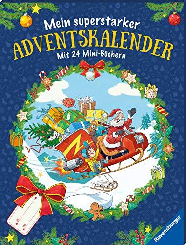 9783473444465: Mein superstarker Adventskalender. Mit 24 Mini-Büchern