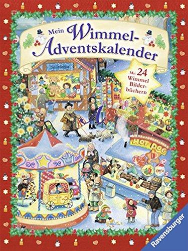 9783473445790: Mein Wimmel-Adventskalender: Mit 24 Wimmel-Bilderbüchern von Ravensburger (2012) Pappbilderbuch