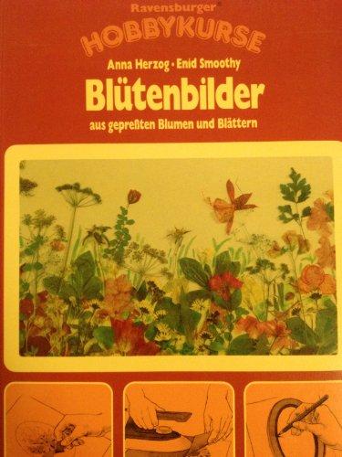 9783473456550: Blütenbilder aus gepressten Blumen und Blättern