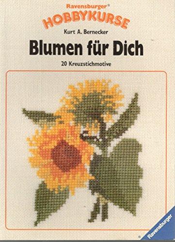 9783473457021: Blumen für Dich. 19 Kreuzstichmotive
