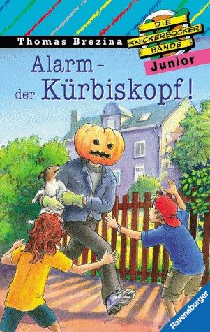 9783473471225: Alarm - der Kürbiskopf!. Mit neuer Rechtschreibung, Bd 12