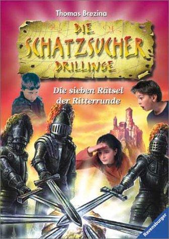 9783473475056: Die Schatzsucher Drillinge, Bd.5 Die sieben Rätsel der Ritterrunde.