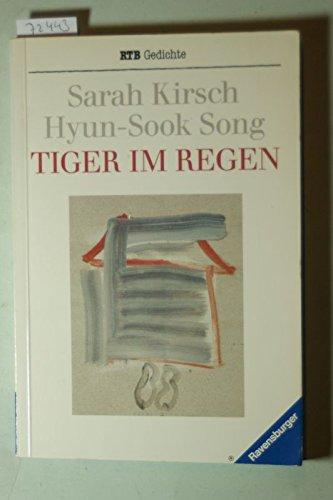9783473517671 Tiger Im Regen Gedichte Abebooks Sarah