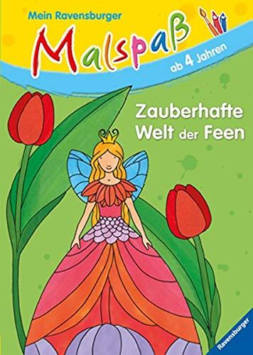 9783473558384: Zauberhafte Welt der Feen: Mein Ravensburger Malspa�