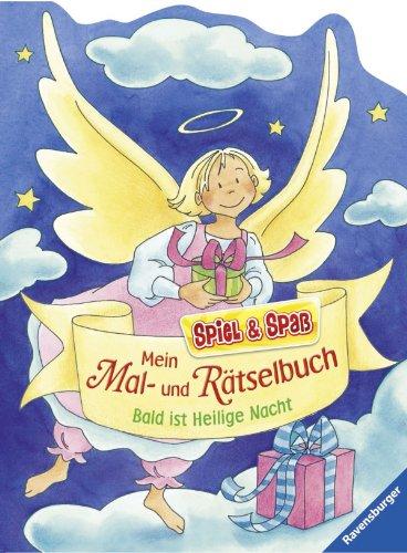 9783473558490: Mein Mal- und R�tselbuch - Bald ist Heilige Nacht