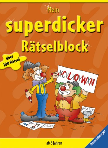 9783473558926: Mein superdicker Rätselblock