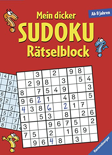 9783473558995: Mein dicker Sudoku-Rätselblock